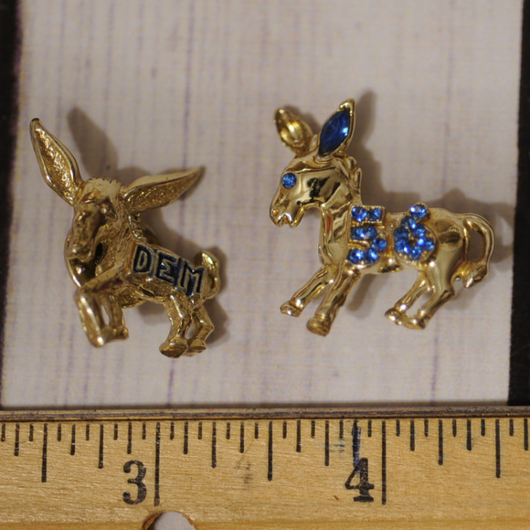 You uneasy vintage donkey brooch topic something